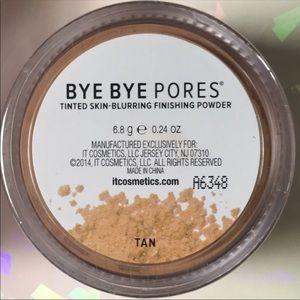 NEW IT Cosmetics Bye Bye Pores Tinted Powder